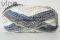 1392 biela sivá modrá