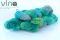17 zeleno tyrkysová sivá
