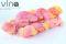19 žltá ružová fialová