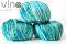 902 zeleno modrý melír
