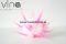 Bielo ružový