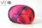 85.0066 ružovo fialovo červeno čierna