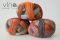 2092 oranžovo sivá