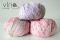 977 ružovo fialový melír